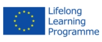 The logo of the European Commission Lifelong Learning Programme